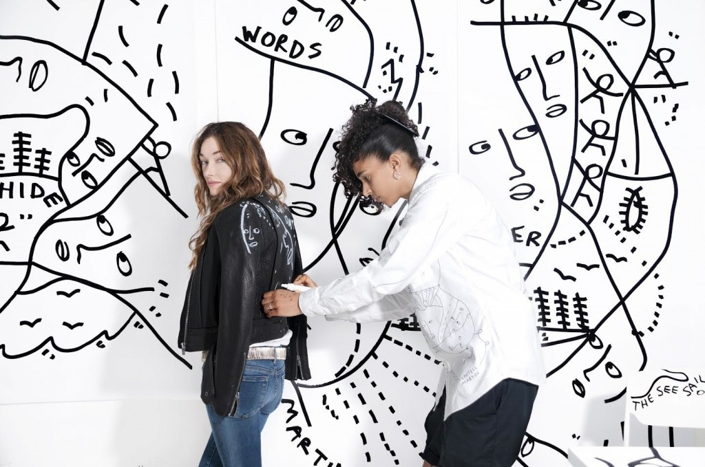 Kelly Wearstler and Shantell Martin. Photo by Therese + Joel.
