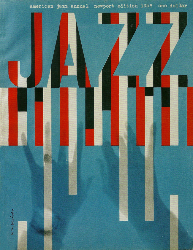 One of Brownjohn's many Jazz album covers