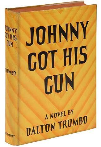 "Original dust-jacket for ""Johnny Got His Gun"""