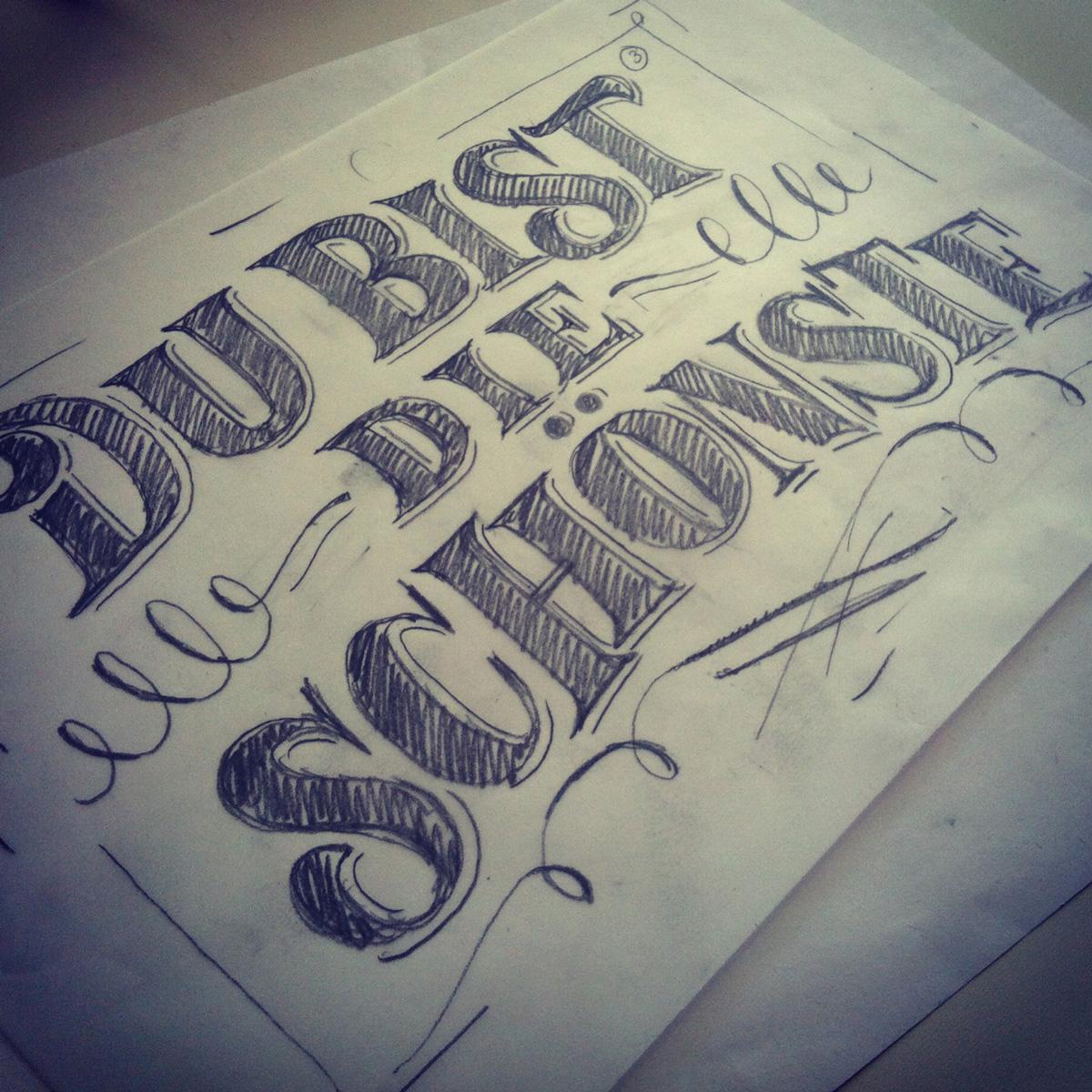 Martina Flor, Workshop Sketch: Die Bist die Schönste