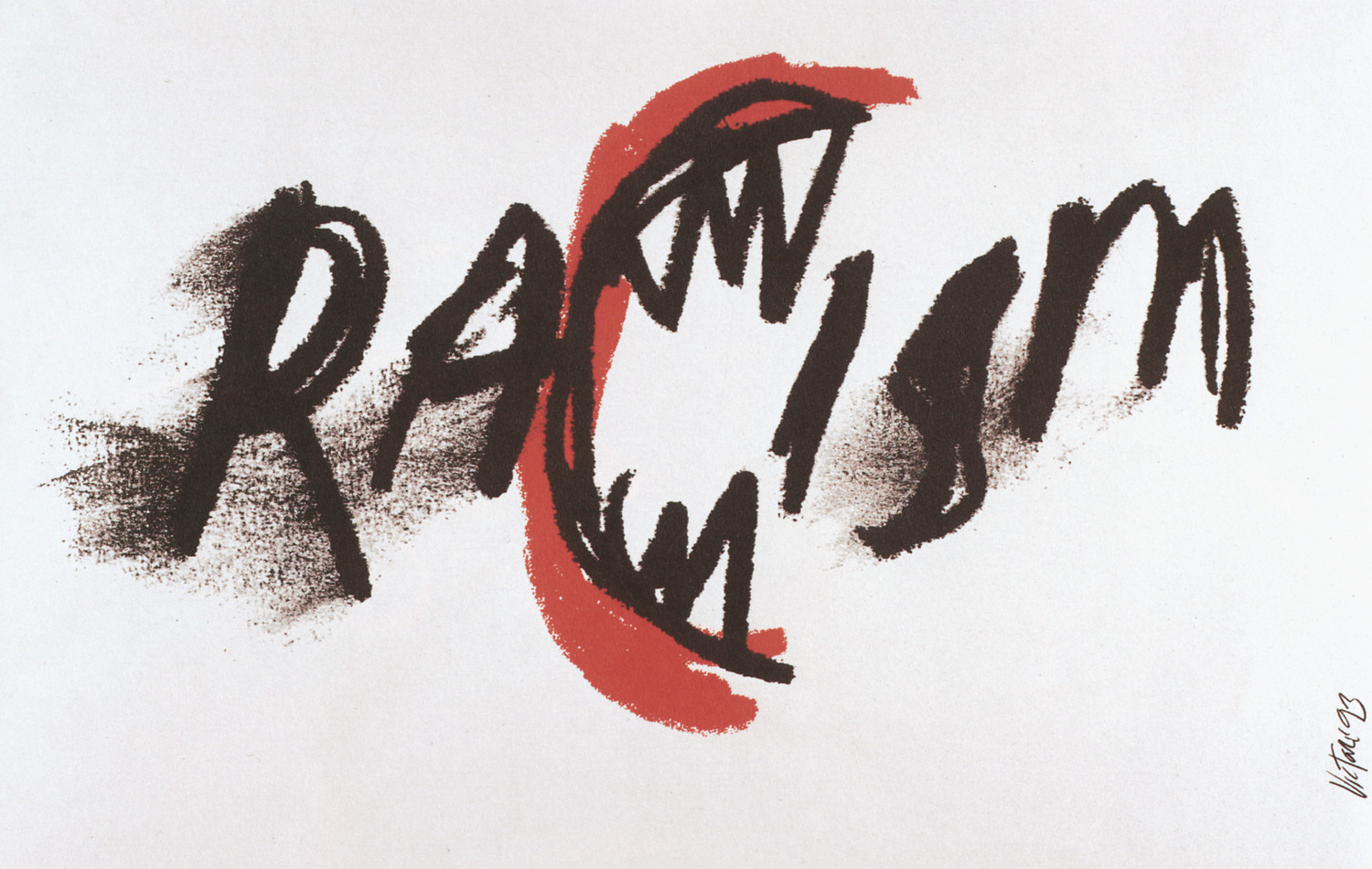 Racism poster by James Victore