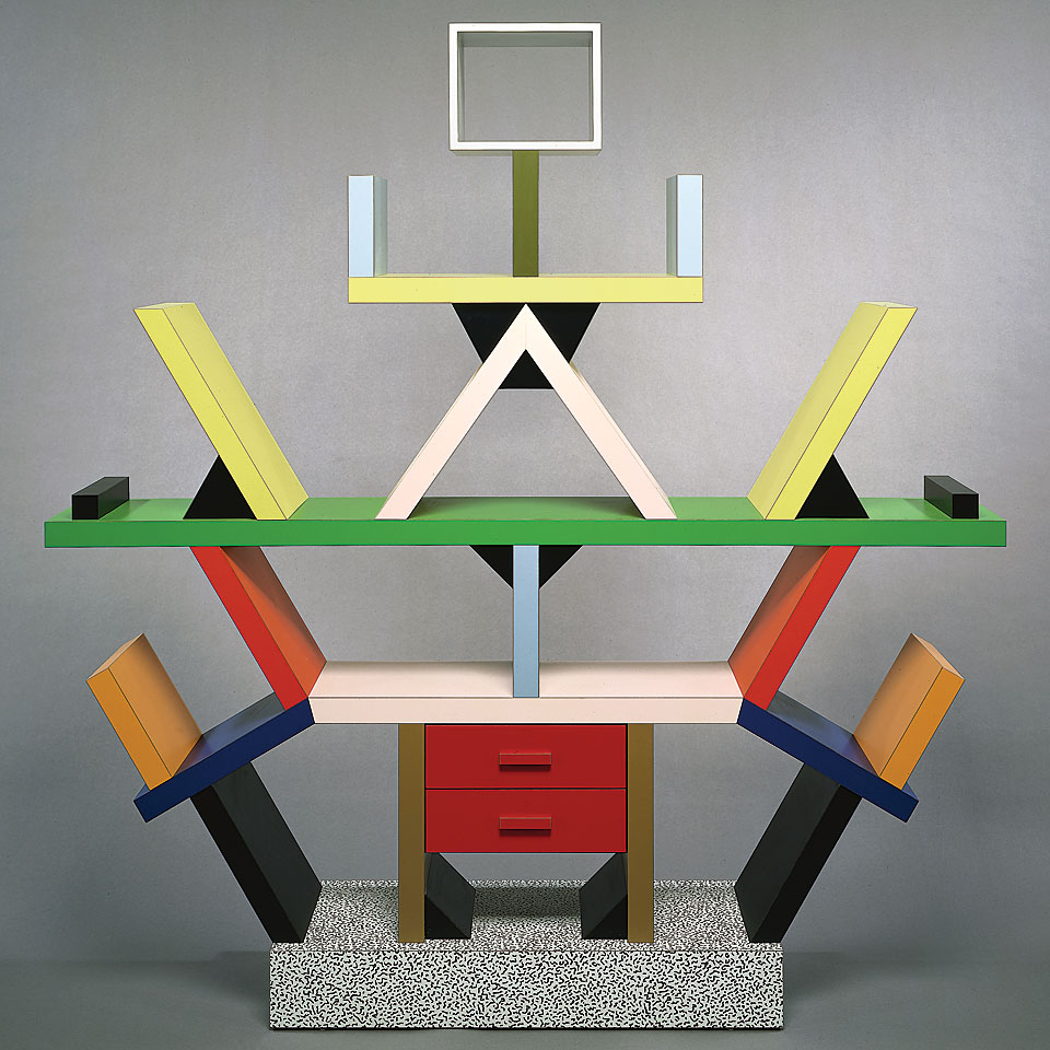 From Ettore Sottsass, Memphis Milano, and Urban Architecure's booth.