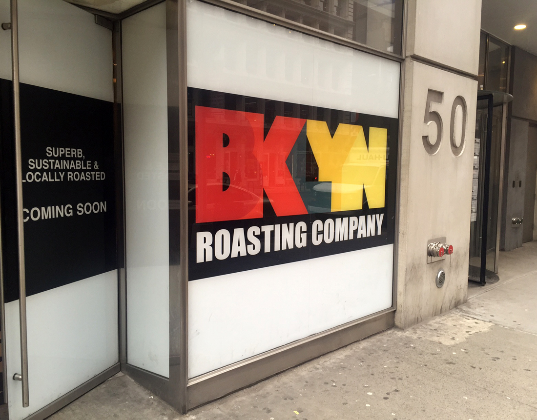 Graphic Design In The Wild Brooklyn Roasting Company S