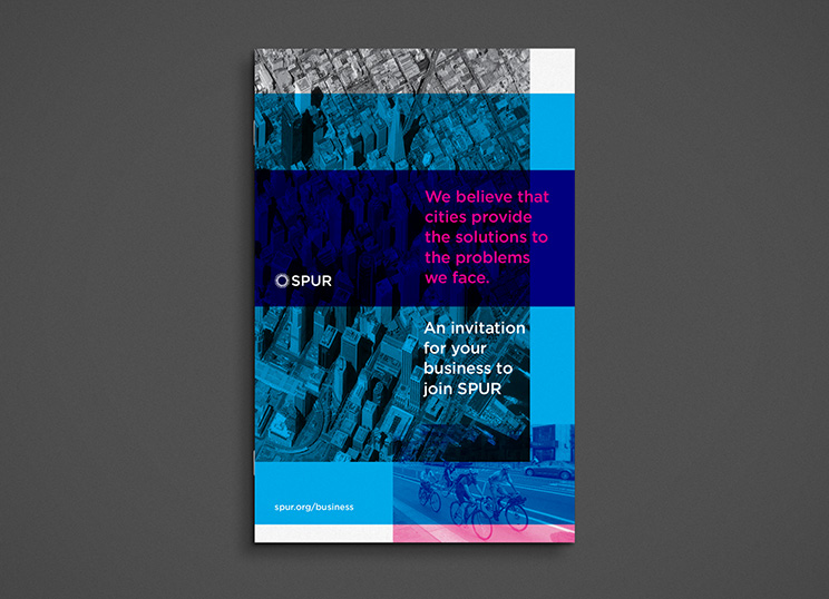 Shawn Hazen: SPUR business brochure cover