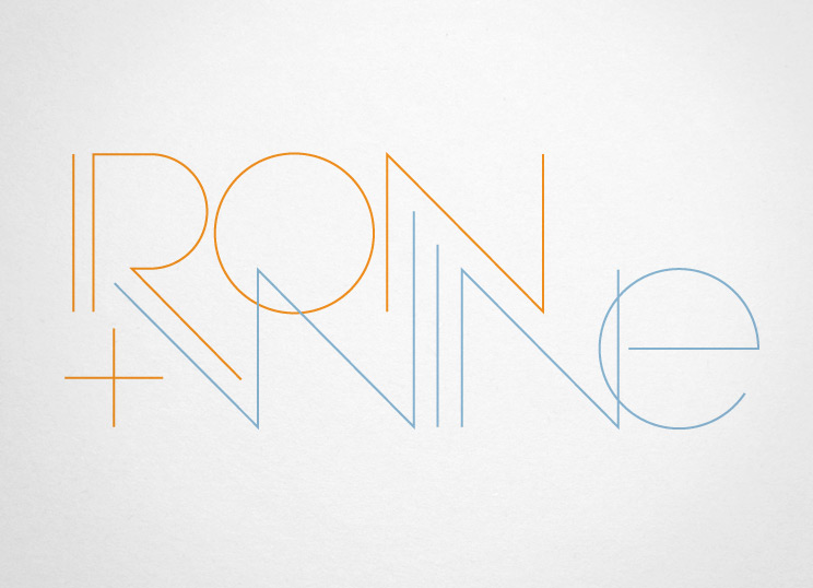 Shawn Hazen: logo for band Iron and Wine