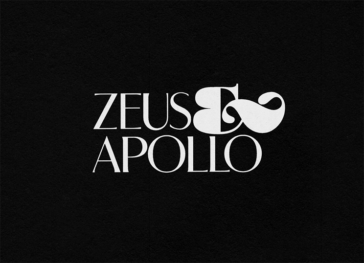 Shawn Hazen: logo for band Zeus & Apollo