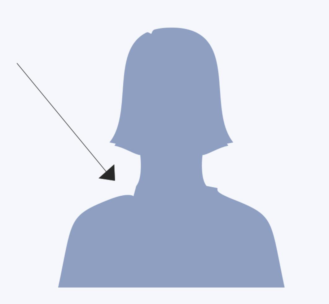 Facebook female icon