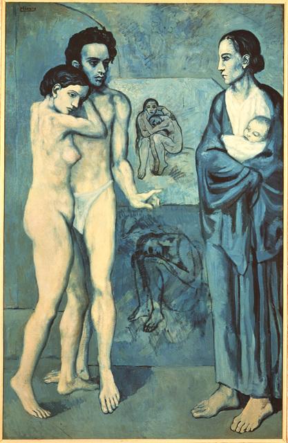 """""""La Vie [Life]"""" by Pablo Picasso (1903)"""