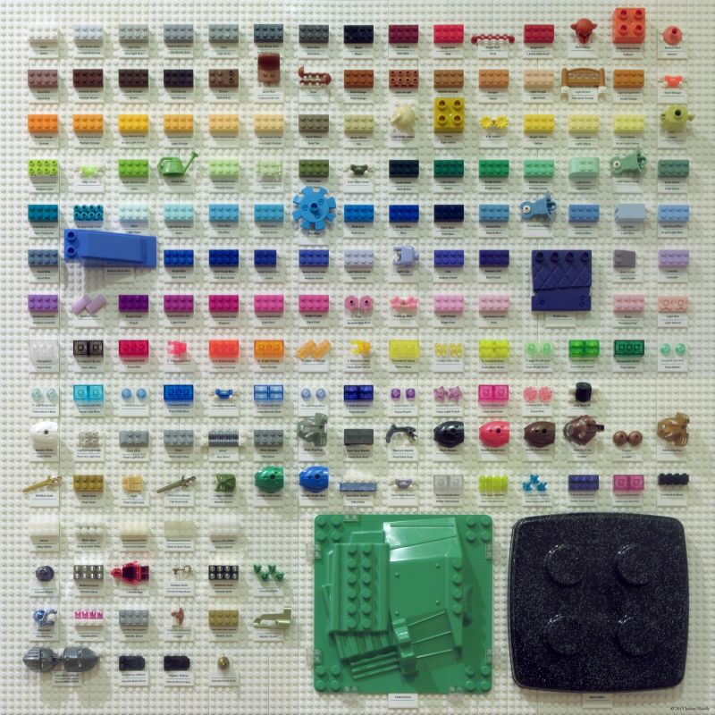All the LEGO geekery you can handle