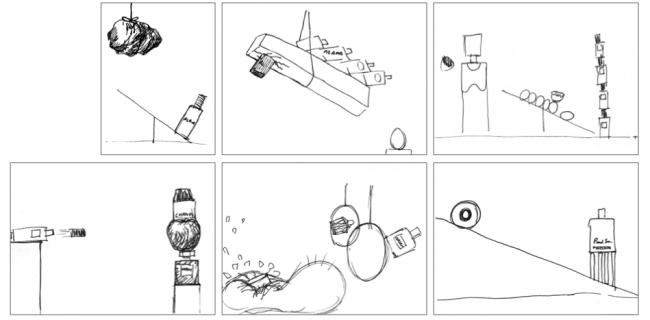 Akatre-Air-France-Sketch