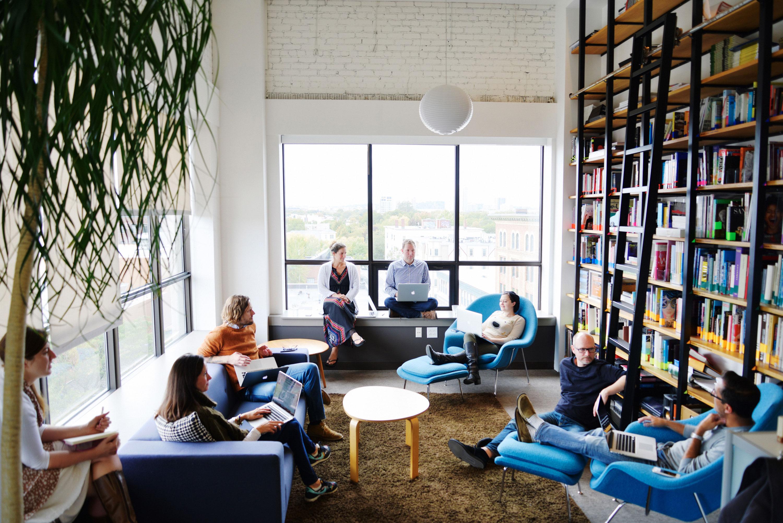 IDEO's Boston office (photo by Nicholas Prakas)
