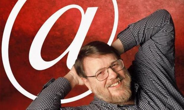 Ray Tomlinson, courtesy of The Guardian