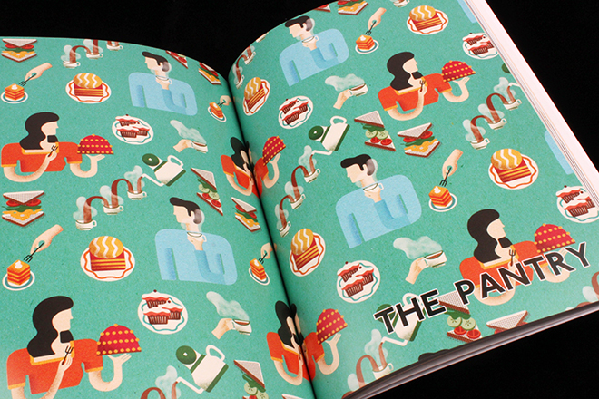 A Magazine Designed as a Restaurant in East London