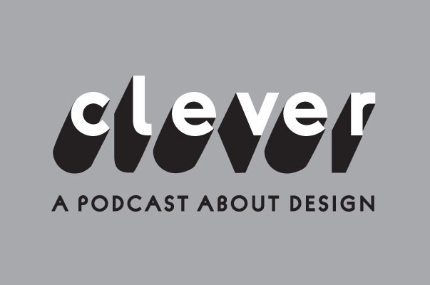Logo for Design Milk's new podcast Clever.