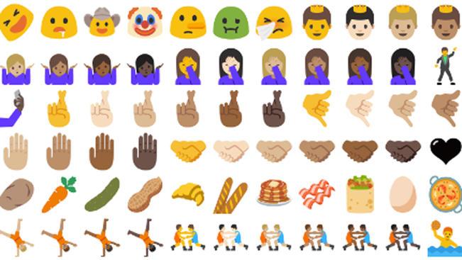 Unicode 9.0, collect 'em all