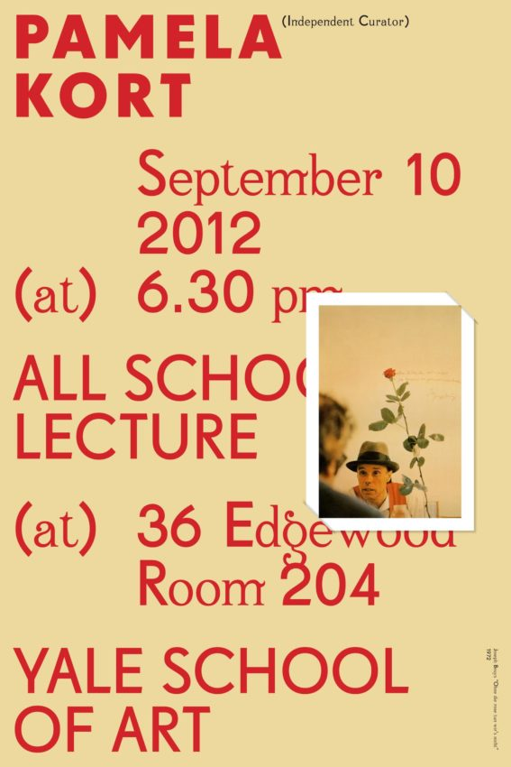 Yale School of Art Lecture Series