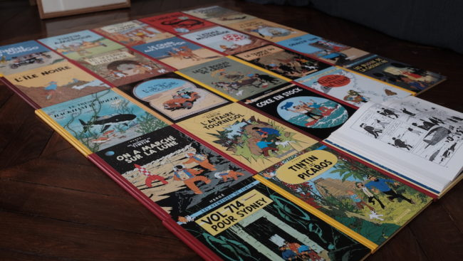 Jean Michel Tixier's Hergé collection