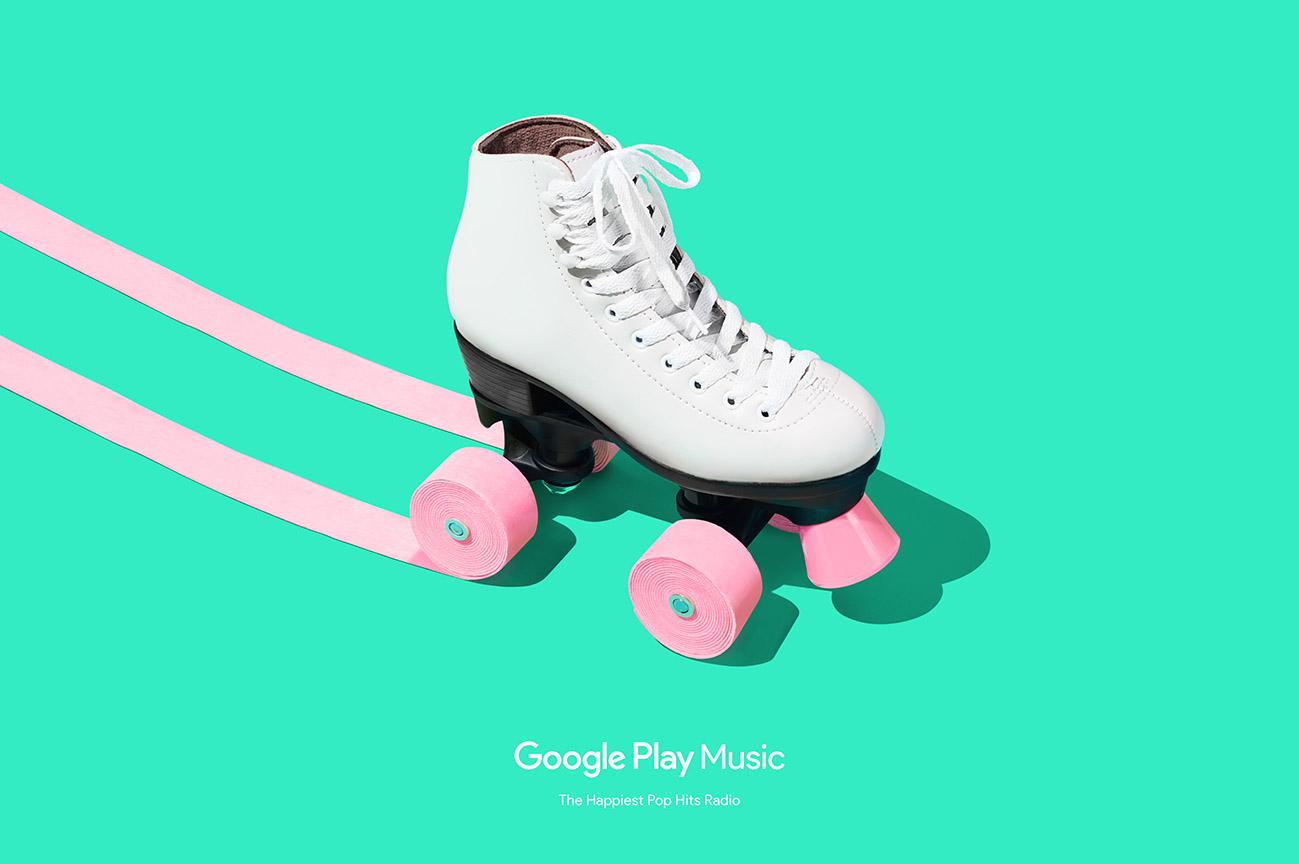 Google Play Music Happiest Pop Hits Radio ad