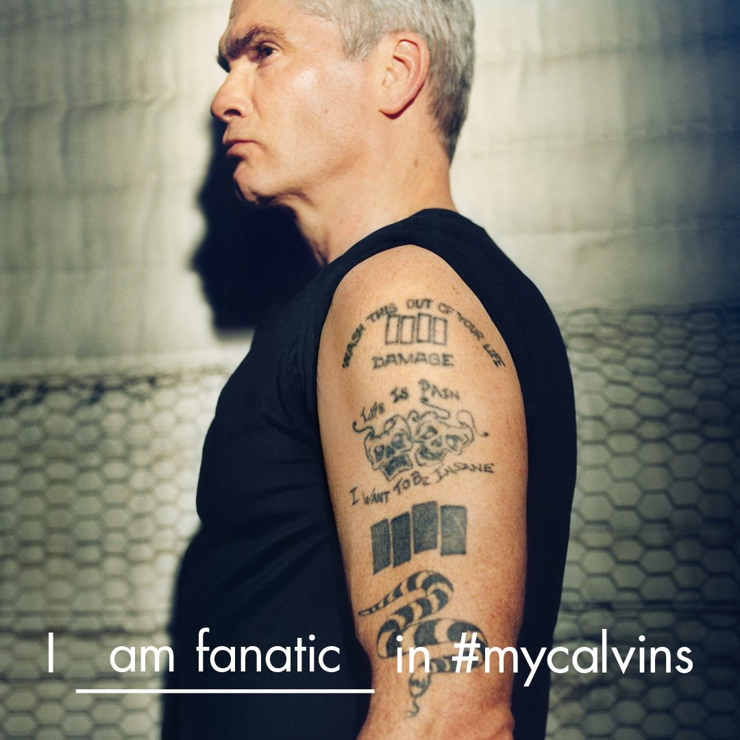 Henry Rollins for Calvin Klein