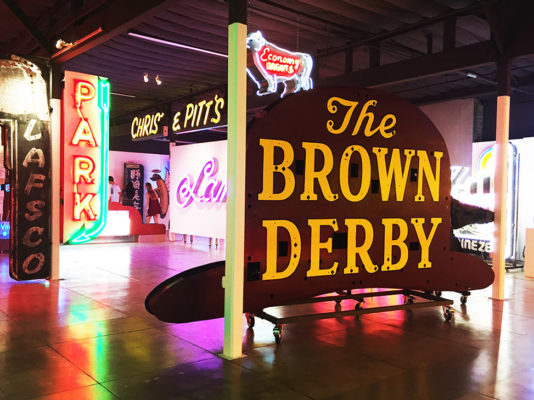 A Look at The Museum of Neon's Glowing Tribute to Hollywood's Historic Typographic Signs