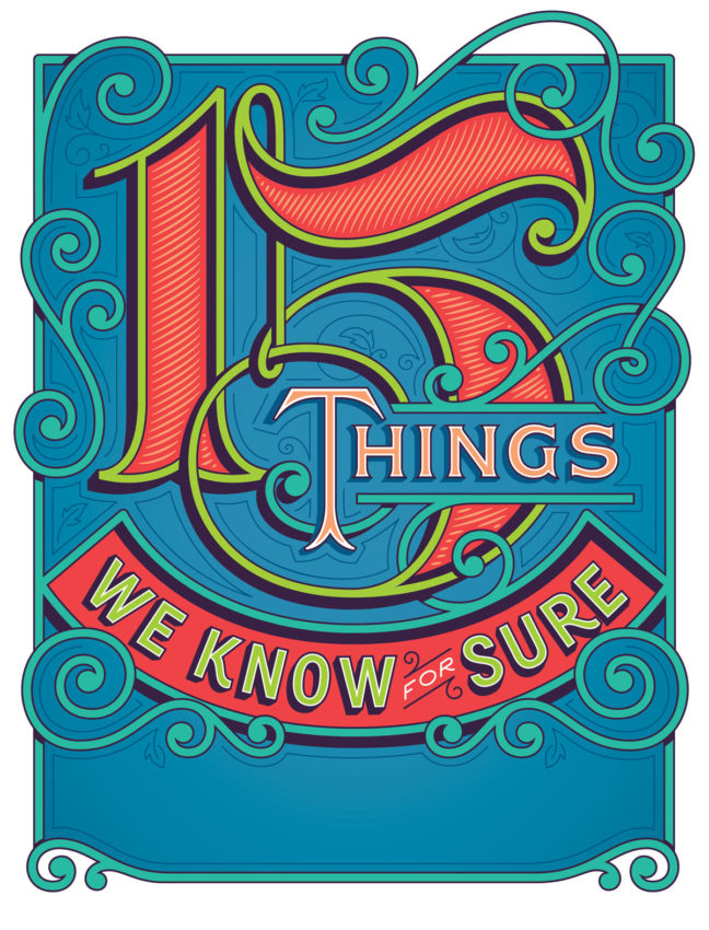 Jessica Hische, 15 Things We Know for Sure