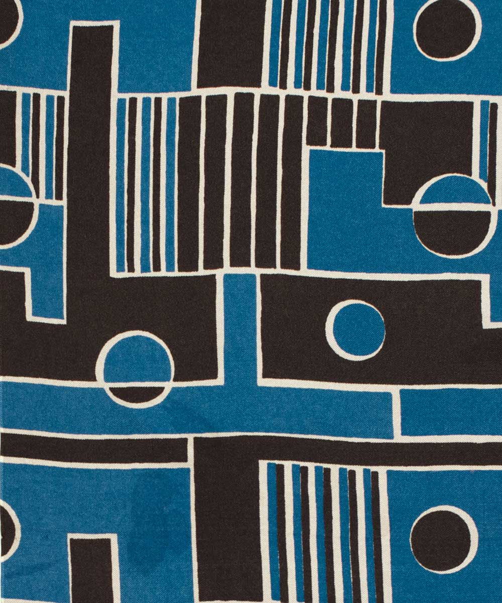 Printed fabric. 1939. Studio Bianchini-Férier. France