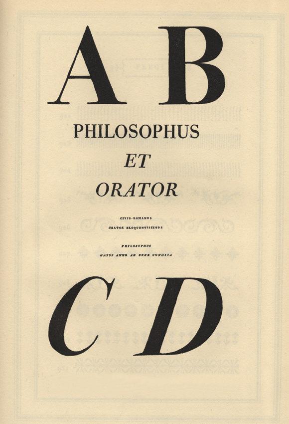 Roman and italic capitals from Bodoni's Manuale Tipografico, Parma, 1818 (The Art Archive/ AlamyStock Photo)