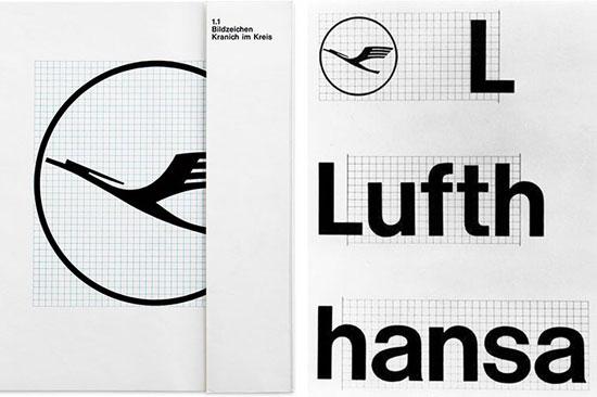 HfL, Lufthansa brand guidelines