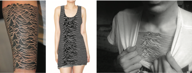 Design for music, showing the impact of Peter Saville's designs for Joy Division