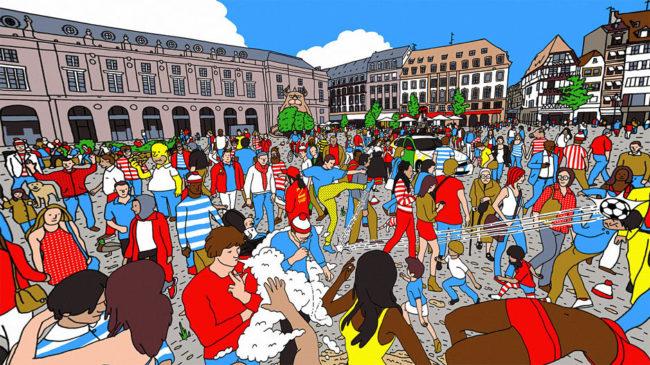 Where's Waldo in 3D
