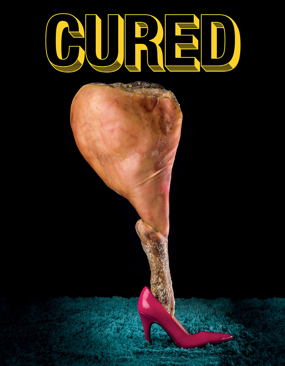 Cover of issue one of Cured Magazine. Photograph by John Hafner Art Director: Krista Ruane Producer: Katie Guhl Prop Stylist: Rick Gilbert