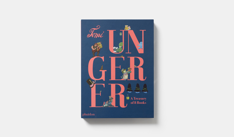 Cover of Tomi Ungerer: A Treasury of 8 Books