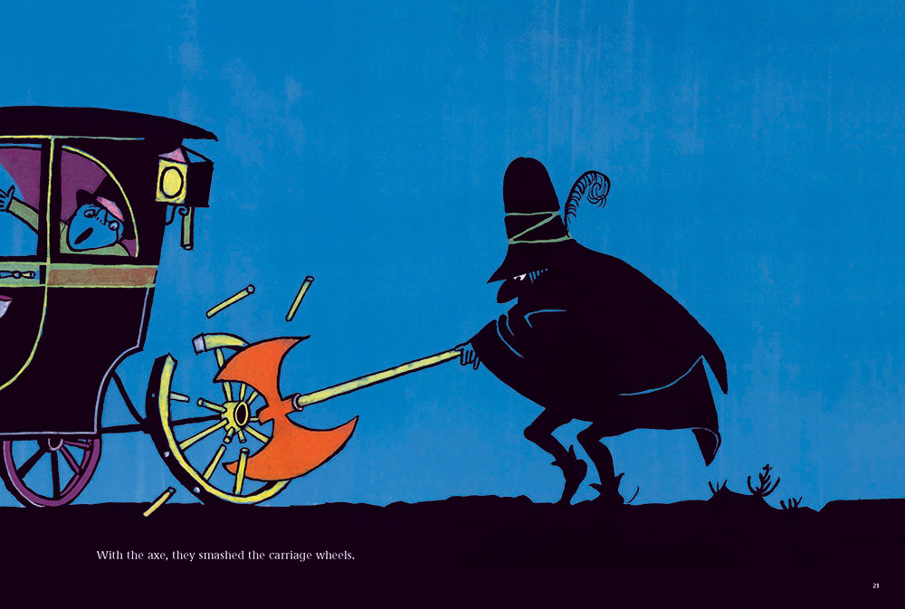 From The Three Robbers, as published in Tomi Ungerer: A Treasury of 8 Books