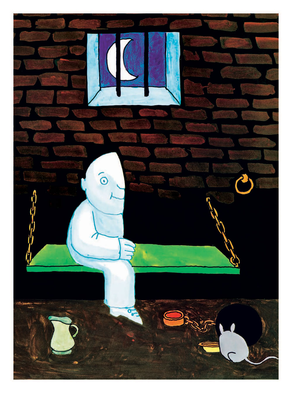 From Moon Man, as published in Tomi Ungerer: A Treasury of 8 Books