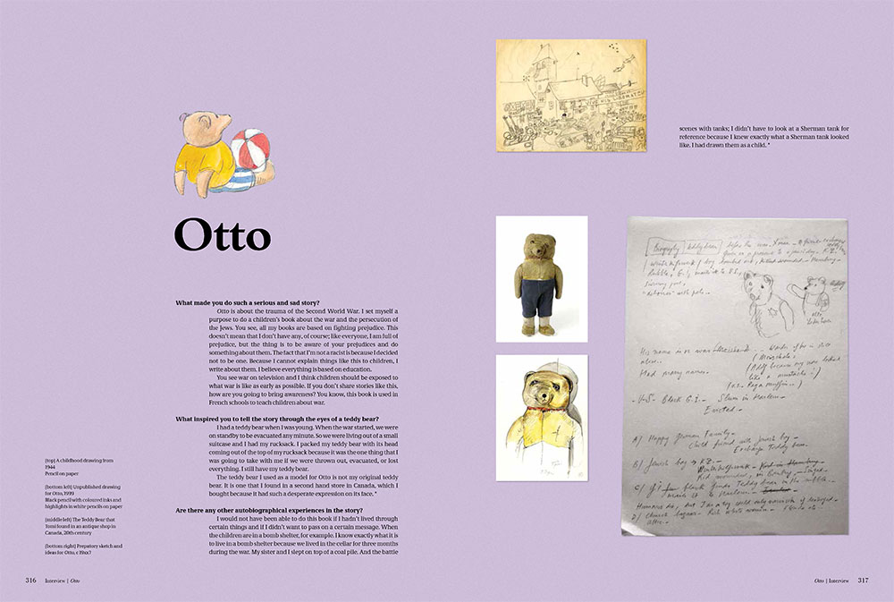 Q&A about Otto, as published in Tomi Ungerer: A Treasury of 8 Books