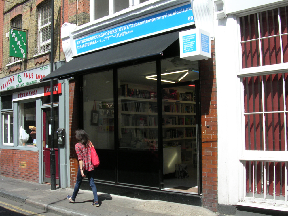 Artwords bookshop - Shoreditch, London