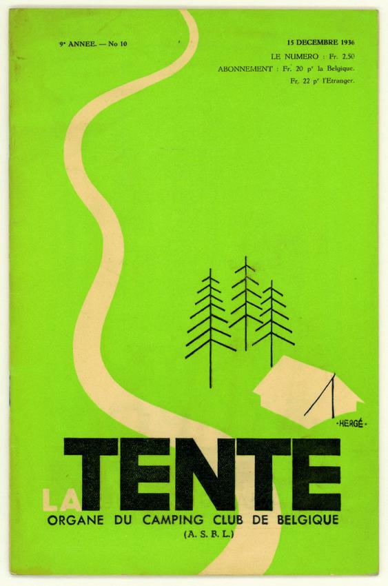 la-tente-herge-1936-1