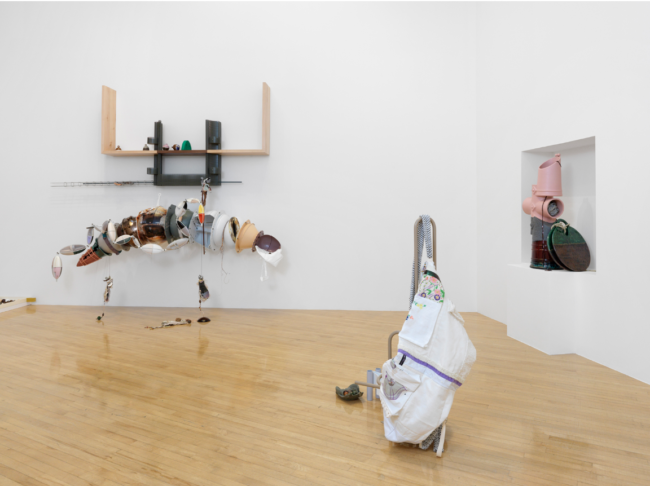 Helen Marten, Turner Prize 2016 installation view, c/o Sadie Coles Gallery, photography by Annik Wetter