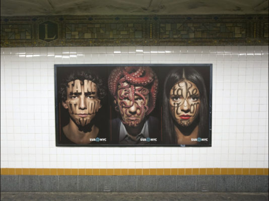 170 Posters Go Underground to Elevate the School of Visual Arts