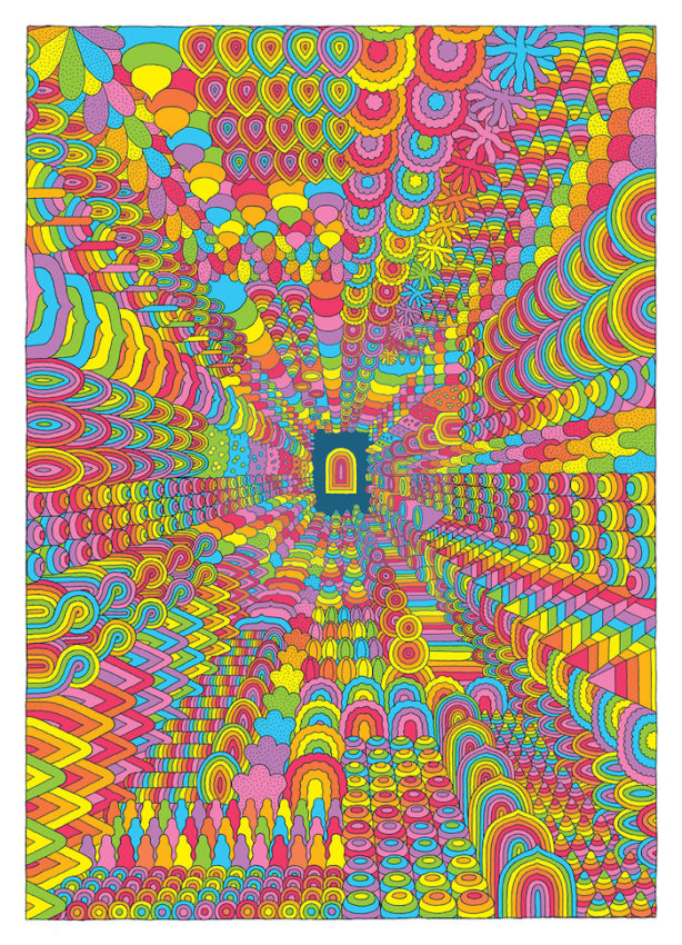 A Psychedelic New Comic By Canada S Jesse Jacobs Makes For