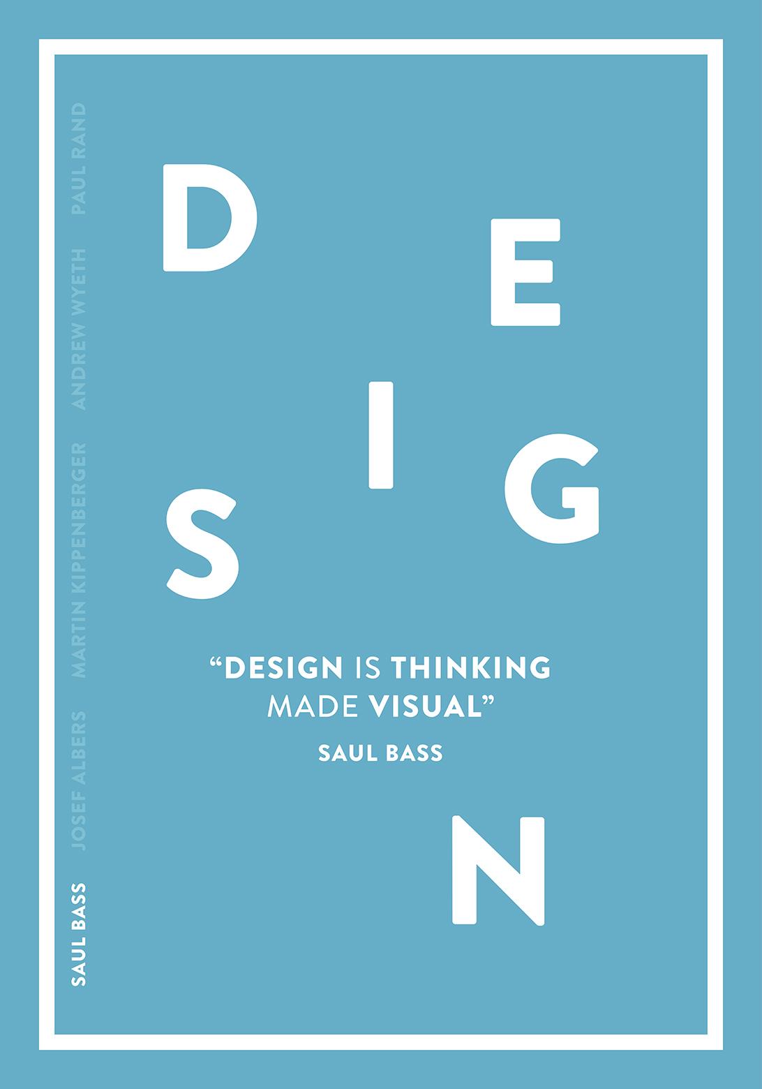 Saul Bass Design Is Thinking Made Visual Eye On Design