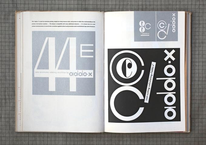Spread from Visual Design in Action by Ladislav Sutnar (1961)
