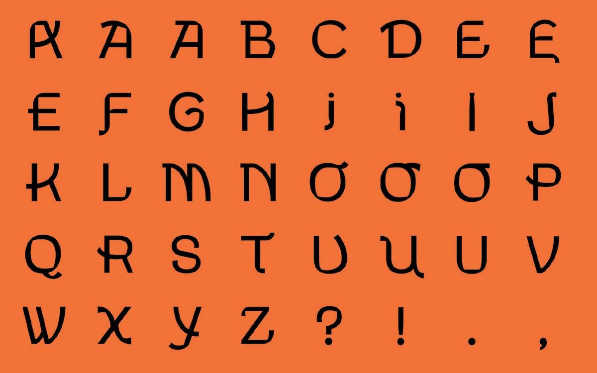 A Cantonese Typeface That Teaches Tone and Rhythm