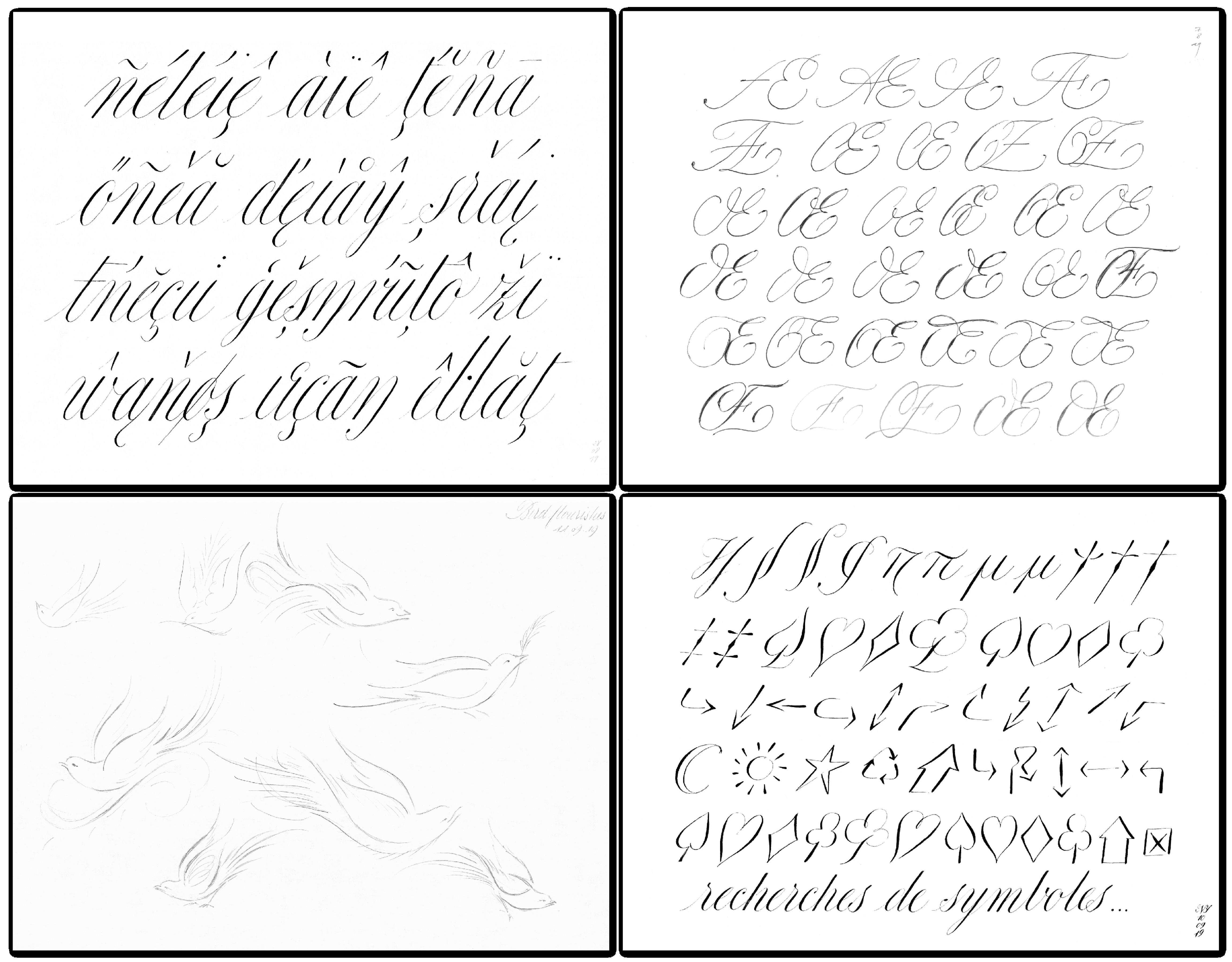 The Rare Cursive Typeface That Actually Recreates the Feel of Handwritten Script